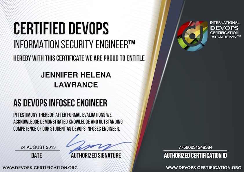 What Is Usd 149 Official Certified Devops Information Security