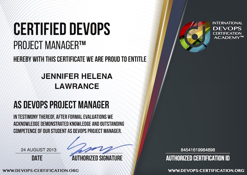 What Is Usd 199 Official Certified Devops Project Manager Devops Pm